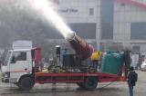 Ấn Độ: Dùng súng phun sương để làm sạch bầu không khí quá ô nhiễm