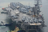 Tau san bay USS Ronald Reagan