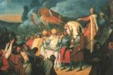 Vị vua bá chủ một nửa châu Âu thời trung cổ, hình tượng lá bài K cơ