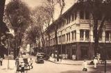 Đường Catinat và nếp sống Sài Gòn xưa