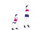 động tác thể dục tại nhà, giảm mỡ bụng