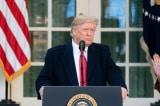 Tổng thống Donald Trump phát biểu tại Vườn Hồng, Tòa Bạch Ốc hôm 26/11.