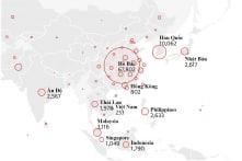Toàn cảnh đại dịch viêm phổi Vũ Hán qua biểu đồ