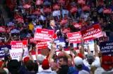Tổng thống Donald Trump tại buổi tập trung chiến dịch ở Trung tâm BOK ở Tulsa, Oklahoma hôm 20/6/2020.