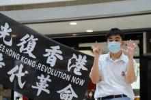 """Luật An ninh: Học sinh bị đình chỉ vì đăng khẩu hiệu """"Tự do cho Hồng Kông"""""""