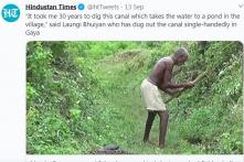 Người đàn ông suốt 30 năm một mình đào kênh dẫn nước về làng