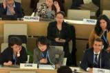 Nữ đại diện TQ liên tiếp gõ bàn ngăn phát biểu về Tân Cương trước LHQ