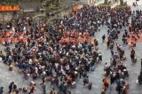 900 người Trung Quốc tập trung tại cửa khẩu chuẩn bị sang Việt Nam làm việc