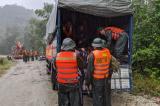 Sạt lở thủy điện: 3 người tử vong, 27 người mất tích, bao gồm cả đoàn cứu hộ