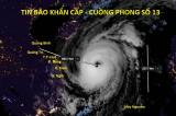 Cuồng phong Vamco hướng vào miền Trung, đường kính mắt bão lên đến 25km