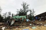 18 người bị thương, hơn 1.500 mái nhà bị sập, tốc mái trong bão số 13