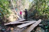 Vụ gỗ lậu chạy vào nhà… tổ trưởng bảo vệ rừng: Khởi tố 3 nghi phạm