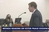 Phiên điều trần tại Nevada: Nhân chứng bị ngăn cản và nhiều người chết bỏ phiếu
